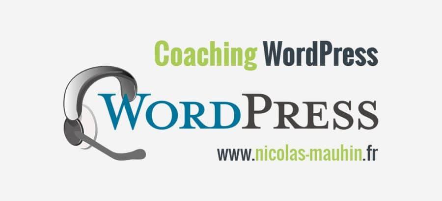 Du coaching professionnel pour apprendre wordpress