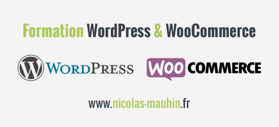 Pour apprendre à créer un site ou une boutique en ligne avec WordPress et WooCommerce