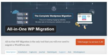 Comment migrer un site WordPress avec un plugin ?
