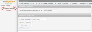 Tutoriel WordPress : BDD phpMyAdmin