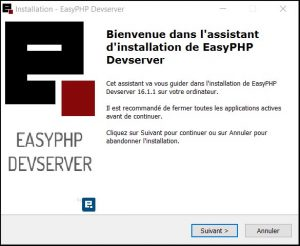 Tuto EasyPHP : Assistant d'installation