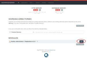 Tuto WordPress : Ouvrir phpmyadmin Easyphp