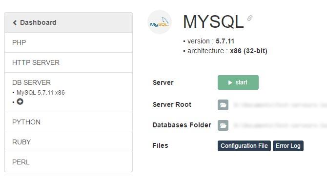 Tuto easyphp : Configuration serveur MySQL