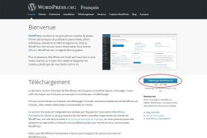 Tuto WordPress : téléchargement wordpress