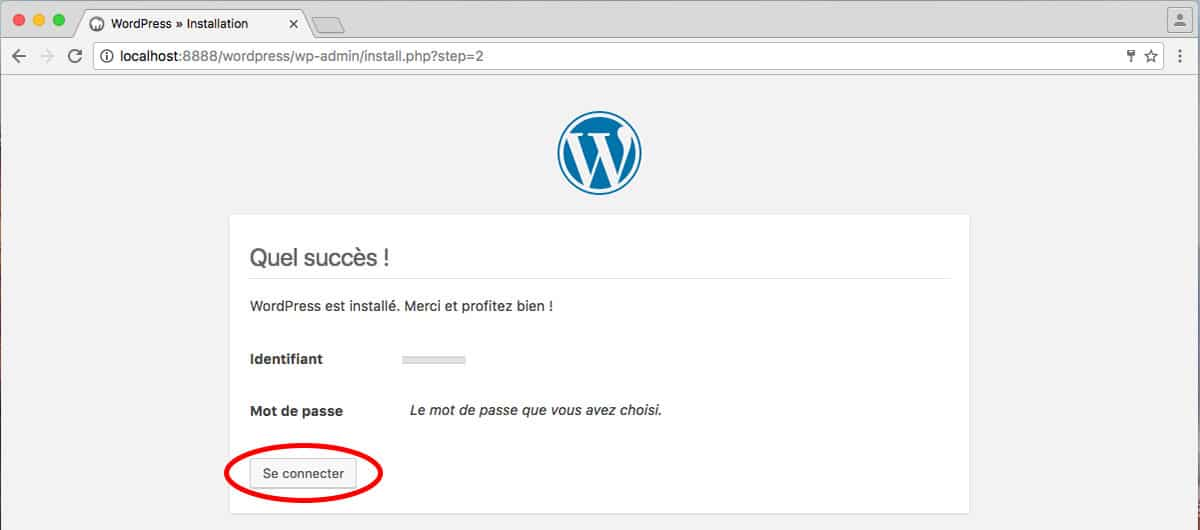 Installar site WordPress sur Mac avec MAMP