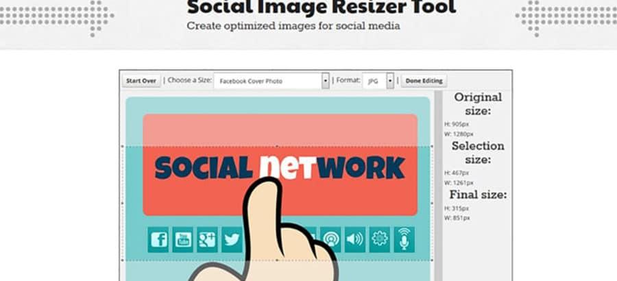 Vos images réseaux sociaux toujours aux bonnes dimensions