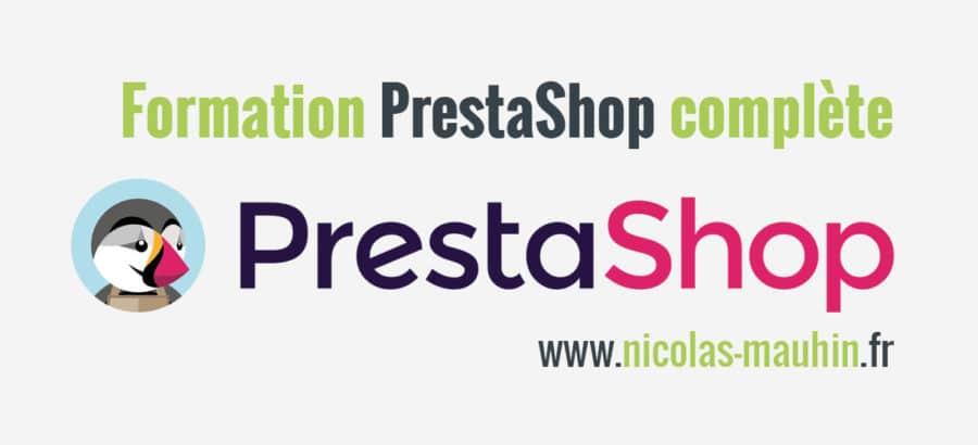 Formation PrestaShop complète | Nicolas MAUHIN