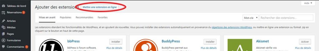 Installer un plugin WordPress acheté sur un site