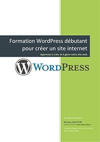 Programme de la formation WordPress complète en 3 jours