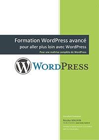 Programme de la formation WordPress avancé en 2 jours